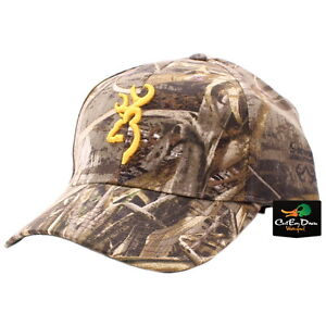 Browning Greenwood Camouflaged Hat Baseball Cap