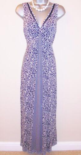 Floral Ditsy 10 Drape Size Occasion Maxi Volto Doody Grazioso Dress Summer Evening EUq4xt