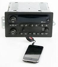 GMC Envoy 2002-2003 Chevy Trailblazer Radio AM FM CD w Aux iPod Input - 15058230