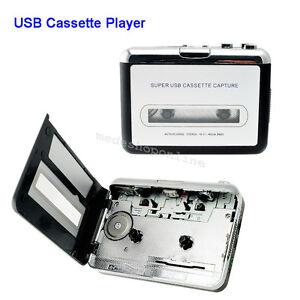 USA-Walkman-USB-CONVERTITORE-Nastro-Cassette-Audio-Stereo-MP3-EN-Lettore-Musicale