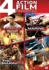 THE MARINE / THE MARINE 2 / THE MARINE 3 HOMEFRONT & 12 ROUNDS DVD