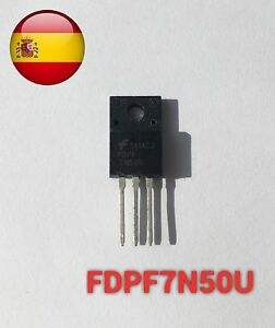Belle Fdpf7n50u Fdpf7n50 Mosfet 500v N-channel To220f Envío Rápido Desde España