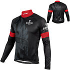 Winter Fit, New Man Thermal Fleece team Long sleeve cycling jersey