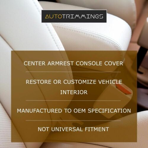 Console Armrest Leather Synthetic Cover for Mitsubishi Lancer 08-16 Black