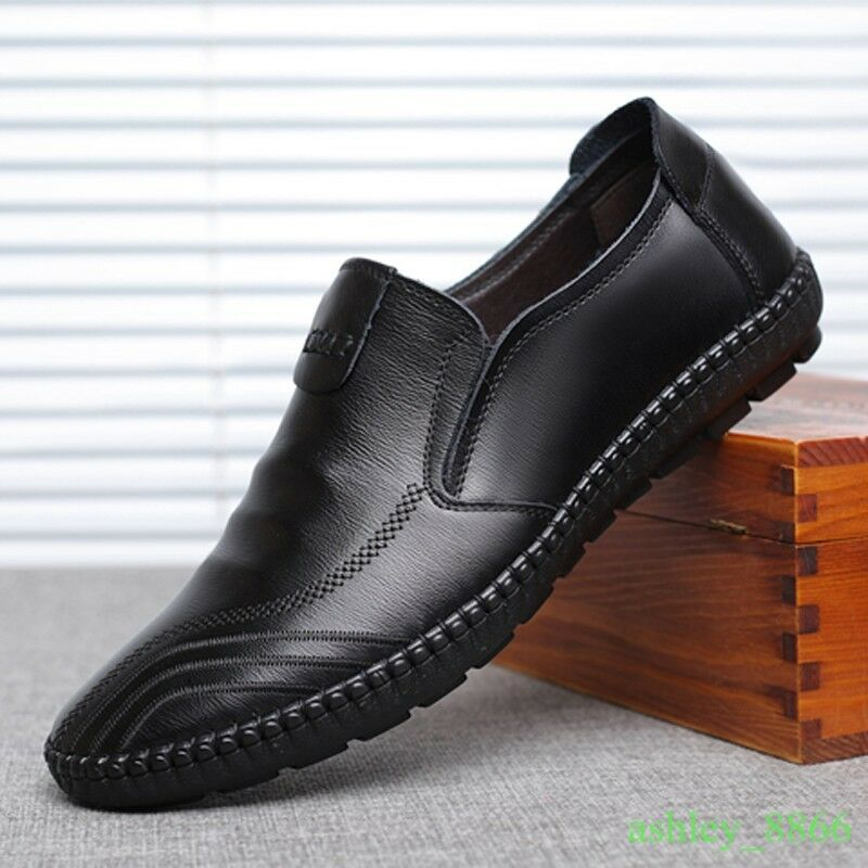 Moccasins Driving shoes Dress Formal Leisure Loafer Men Slip on Soft Oxfords Hot