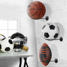 free ball stand acrylic football wall mount bracket display shelf ball holder