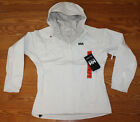 NWT Womens HELLY HANSEN Waterproof Breathable Rain White Loke Jacket S M L XL
