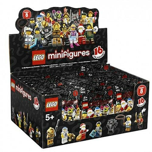 Neuf Scellé Lego 8833 Boîte   Boîte de 60 Mini Figurines Série 8