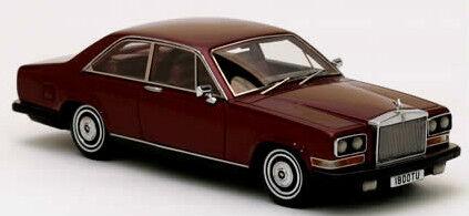 Merveilleux MODELCAR Rolls Royce Carmargue Coupé 1975-darkrouge-échelle 1 43