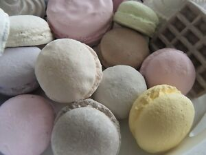 lot-macaron-shabby-chic-maison-decoration-candy-bar-cottage-vitrine-gateau
