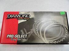 Diamond Pistons Rings #09014110  4.110 Bore-File Fit 1/16, 1/16, 3/16