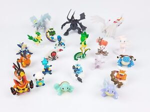 Pokemon-Figures-Tomy-small-loose-lot-of-22-different-figurines
