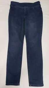 So-Slimming-by-Chico-039-s-Womens-Size-0-Jeans-Pull-On-Skinny