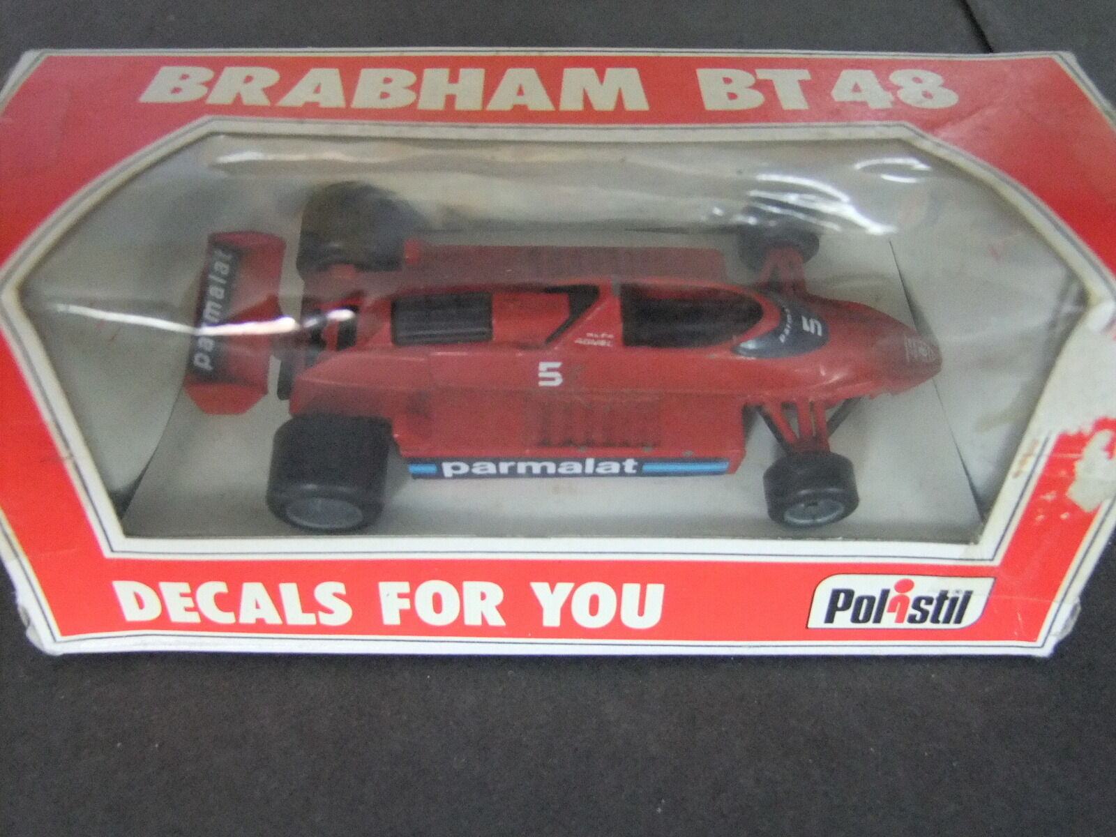 Polistil Brabham BT48 1 41 Scale No 5 Parmalat Logo early issue