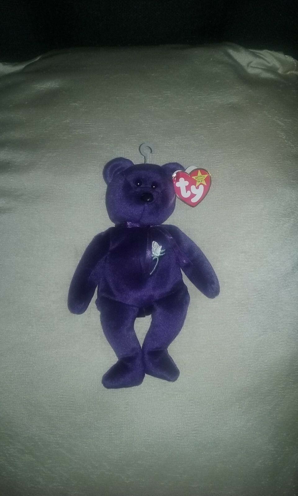 New With Tags Princess Diana Beanie Baby Plush Toy by TY .