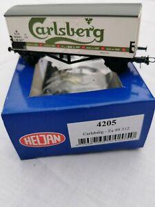 Heljan-4205-Za-99-312-Carlsberg-vagon-de-mercancia-modelismo-ferroviario-H0