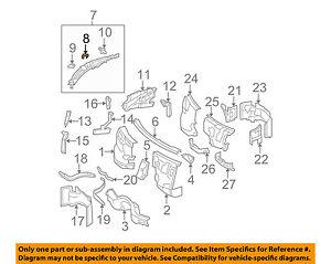 MERCEDES OEM 08-10 C300-Cowl Grille Bracket 2048320614