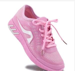 Rave-Jemae-Women-039-s-Sneakers-Rubber-Shoes-PINK-SIZE-37