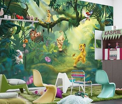 Lion King Wall Mural Photo Wallpaper Kids & Baby Room Disney Decor NO Adhesive | EBay