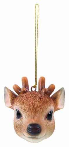 Decoration Reindeer Vivid Arts Hanging Christmas Head