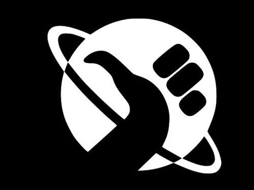 Guia do Mochileiro das Galáxias Carro Vinyl Decal Adesivo De Parede Janela escolha o tamanho
