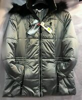 New Ladies Padded Hooded Winter Coat Parker Womens Jacket Plus Size