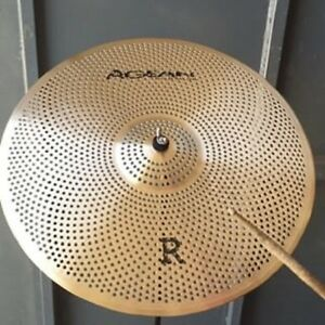 Series 10-inch Low Volume R Splash Cymbal Agean Cymbals Silent R