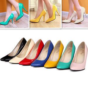 b28e16952a6 Women s Pumps Strappy Stiletto High Heels Party Wedding Shoes Plus ...