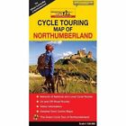 Cycle Touring Map of Northumberland - Official by CyclePad (Sheet map, folded, 2015)