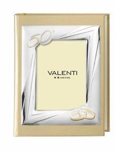 Details About Album Fotografico Valenti Regalo Nozze D Oro 50 Anniversario Matrimonio 25 30