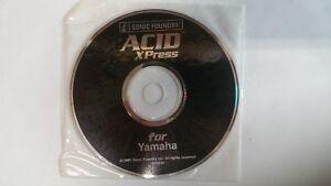 100% De Qualité Sonic Foundry Acid Xpress For Yamaha Disc CaractèRe Aromatique Et GoûT AgréAble