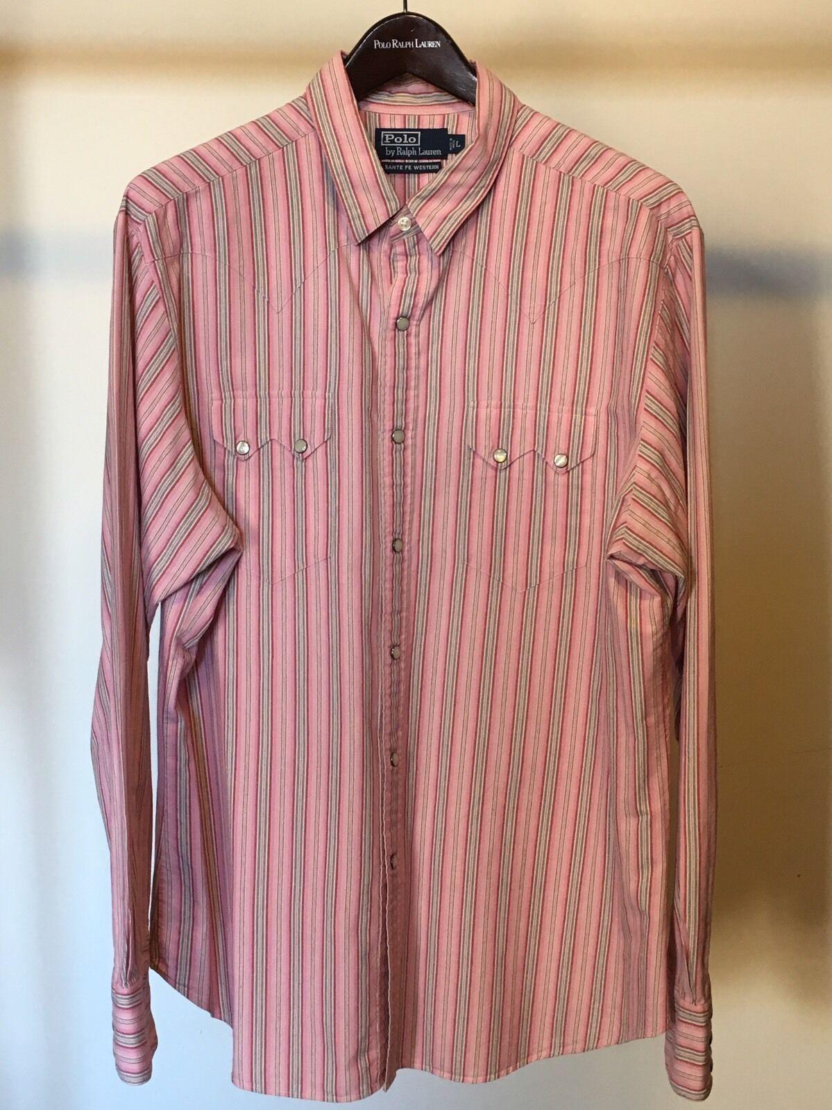 Polo Ralph Lauren Men's Western Shirt