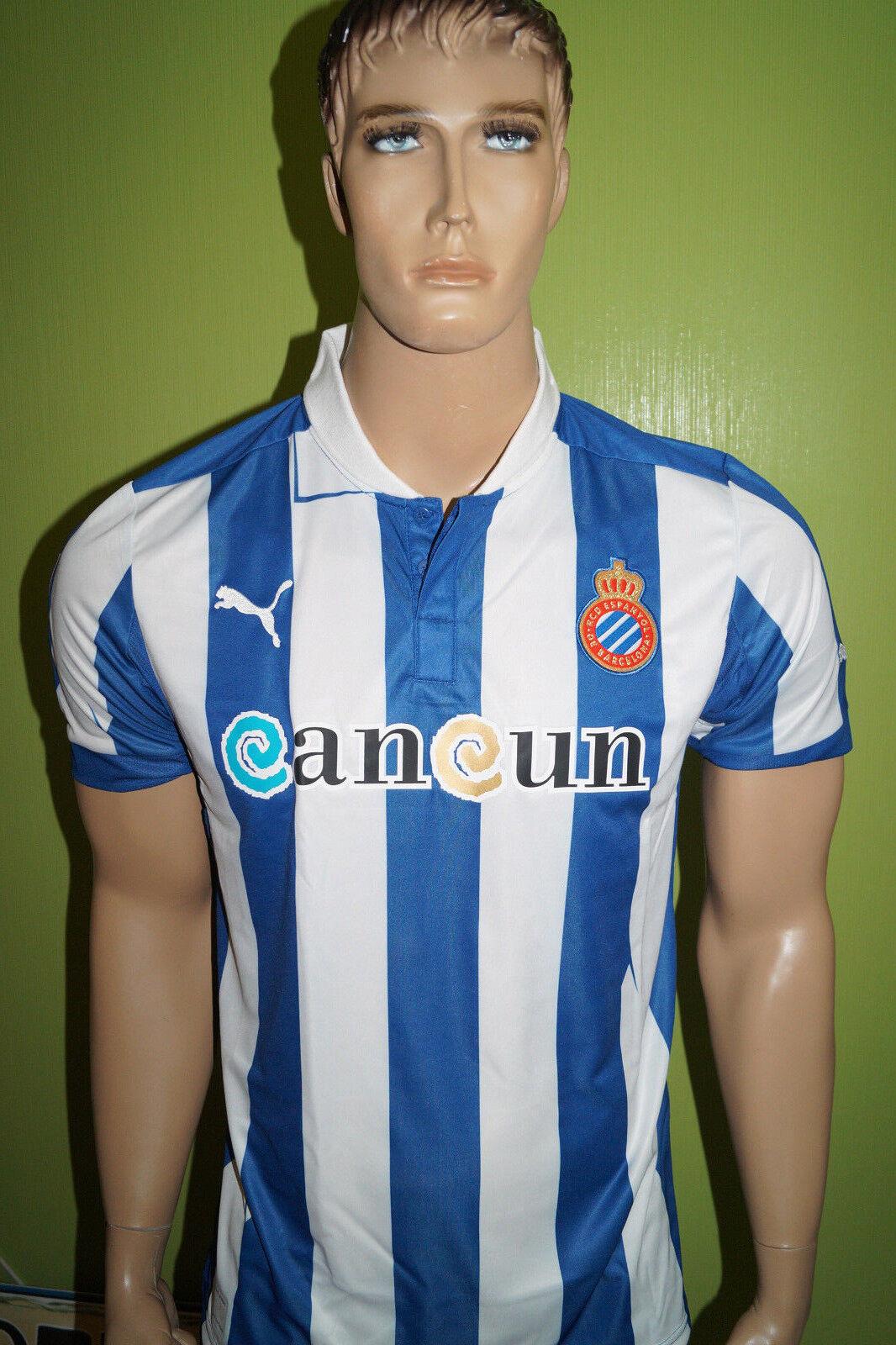 PUMA RCD Espanyol de Barcelona Trikot Jersey Maillot [L] 743024 01