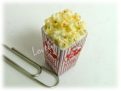 12 pieces of Dollhouse miniature Popcorn in Box