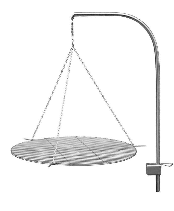Schwenkgrill Edelstahl D 63 cm Grillzubehör passend zu Schalen Space und Grace