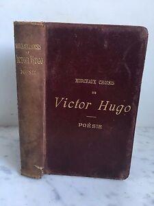 Unidades-Seleccion-De-Victor-Hugo-Poesia-Paris-Libreria-Ch-delgrave-1900
