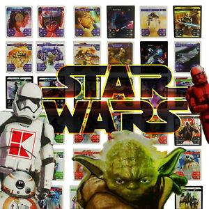 alle-48-Karten-STAR-WARS-Sammelkarten-Kaufland-Karten-Normal-WOW-Set-komplett