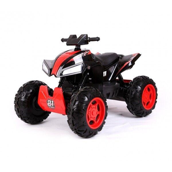 Quad mini moto elettrico per bambini 4x4 - 4 ammortizzatori 12 volt