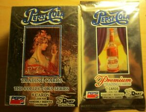 NEW Dart Premium Pepsi Cola 107 trading cards collectors series 1994 & 96 combo