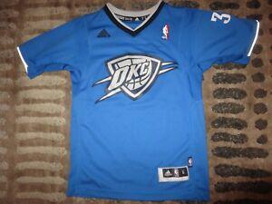 3c13e3abb Kevin Durant  35 Oklahoma City Thunder Adidas NBA Jersey Youth S 6-8 ...