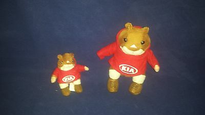 The Famous & Stylish KIA SOUL HAMSTER plush toy and key chain Stuffed animal