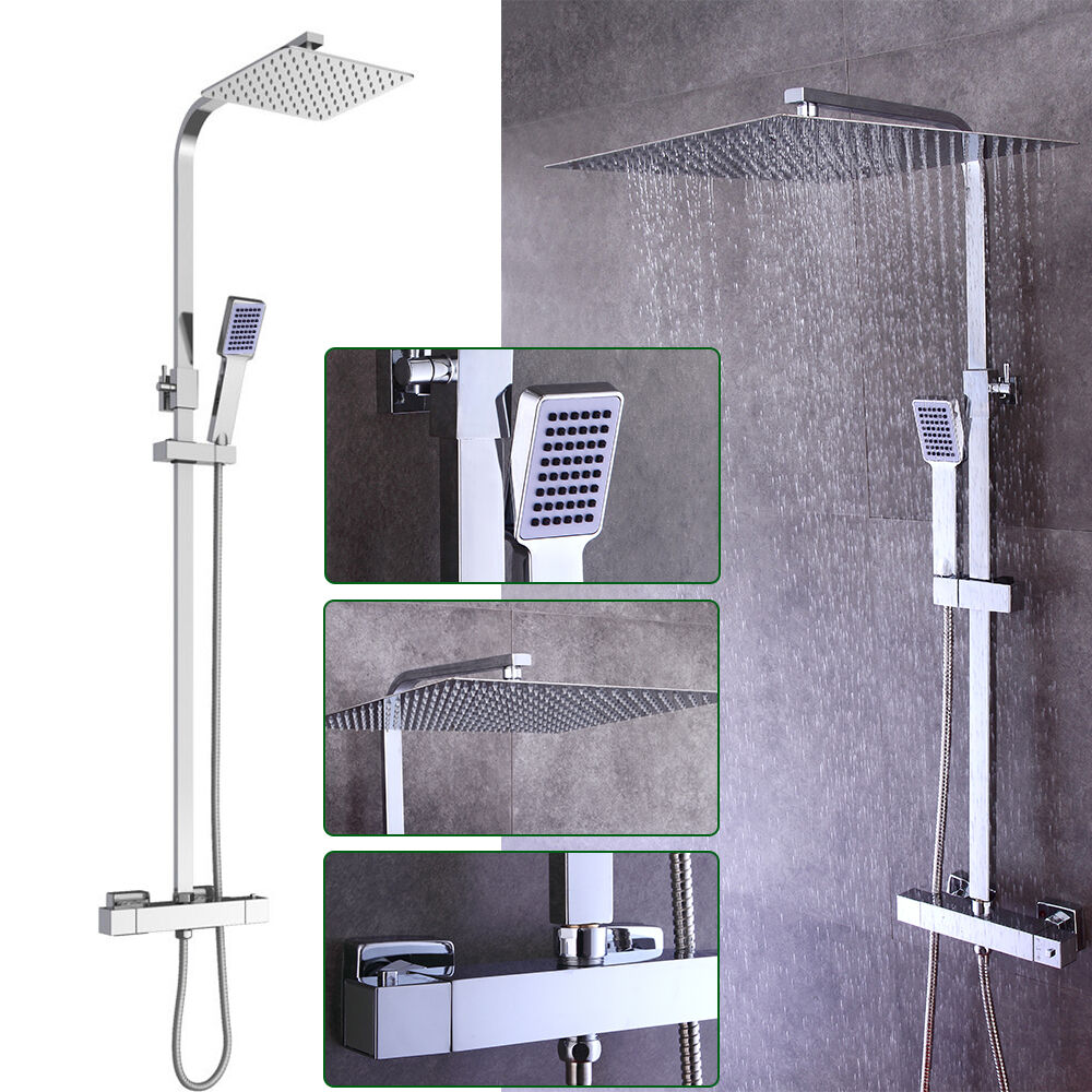 Duschsystem Duscharmatur Set Duschkopf Brause Brause Brause Regendusche Wasserhahn Bad Dusche | Gewinnen Sie hoch geschätzt  feb18a