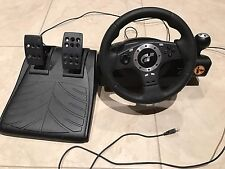 Logitech Driving Force Pro E-UJ11 Steering Wheel With Pedals
