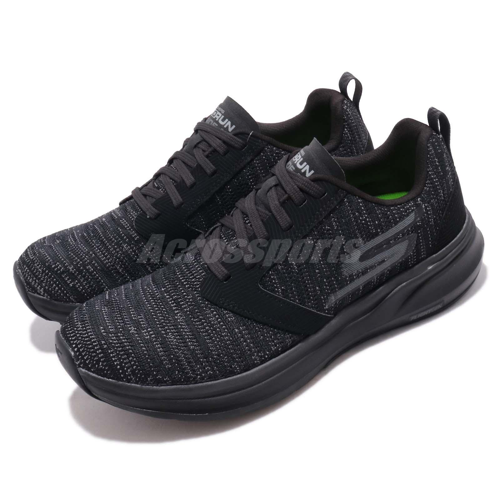 Skechers Ride 7 Negro Gris Hombre Running Walking Sneakers Casual Zapatos Sneakers Walking 55200-BBK 17d6db