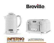 BREVILLE Curve VTT787 4-Slice Toaster White Rose Gold