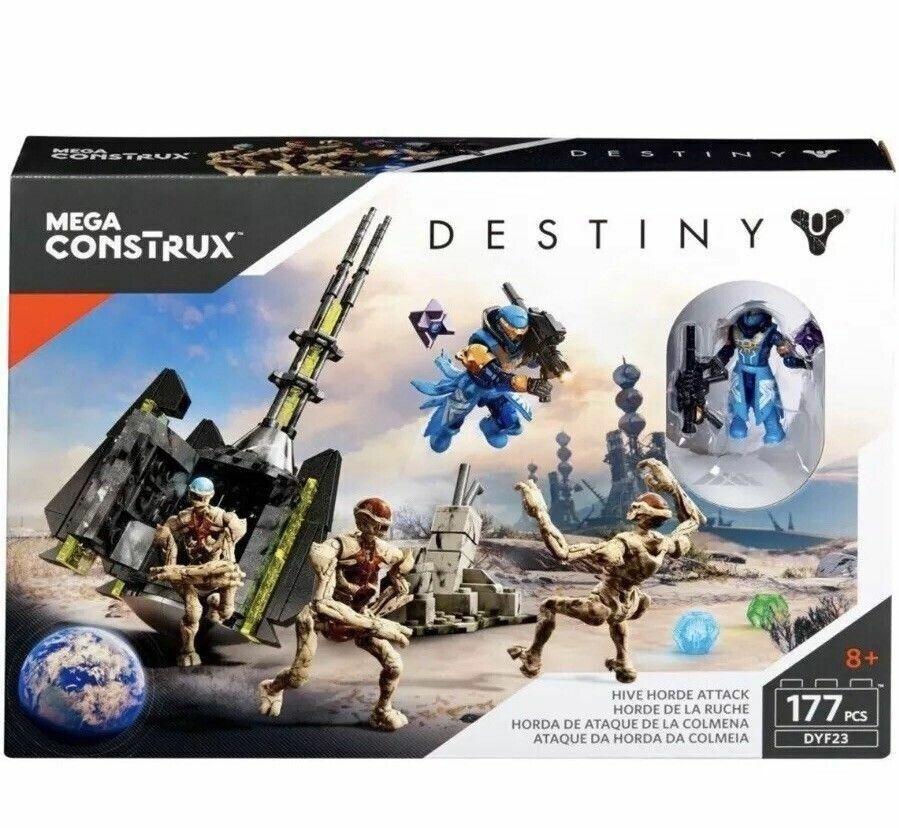 Byggesæt, Destiny - hive horde attack, Mega Construx