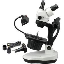 AmScope GM400TZ-10M 3.5X-90X Advanced Jewel Gem Microscope + 10MP Camera