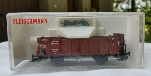 Fleischmann 5216k de vagones abiertos de con garita WRO en OVP-h0