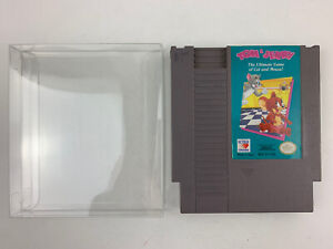 Tom & Jerry NES Nintendo Game With Cartridge Protector Tested Works