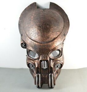 Full-Face-Eyes-Wire-Mesh-Protection-AVP-Predator-Mask-For-Paintball-Airsoft